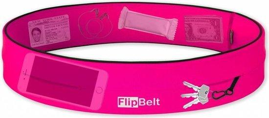 roze running belt van flipbelt